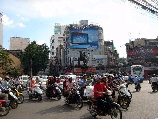 行走越南今日的西贡_图1-2