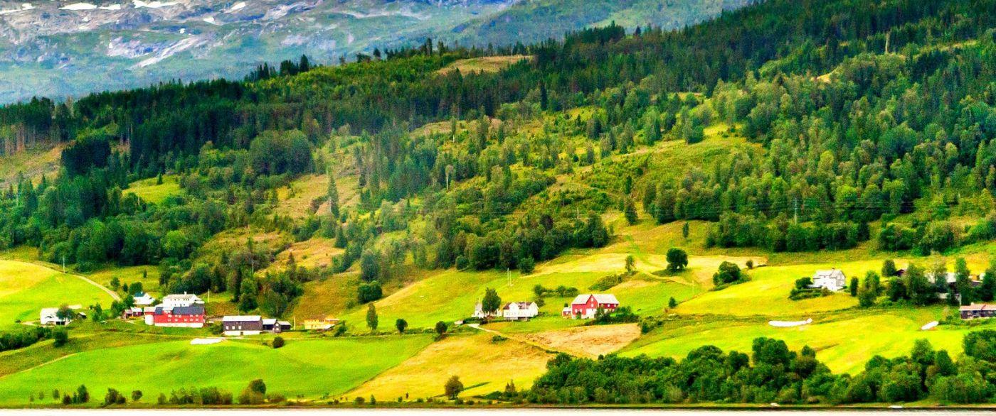 北欧风光,依山傍水美如画_图1-2