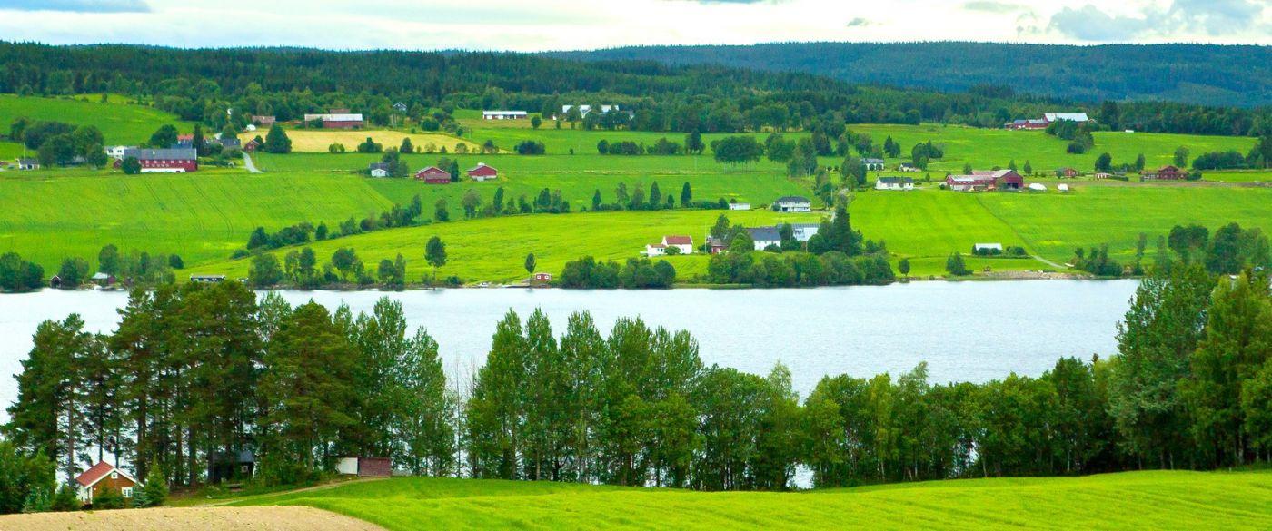 北欧风光,依山傍水美如画_图1-6