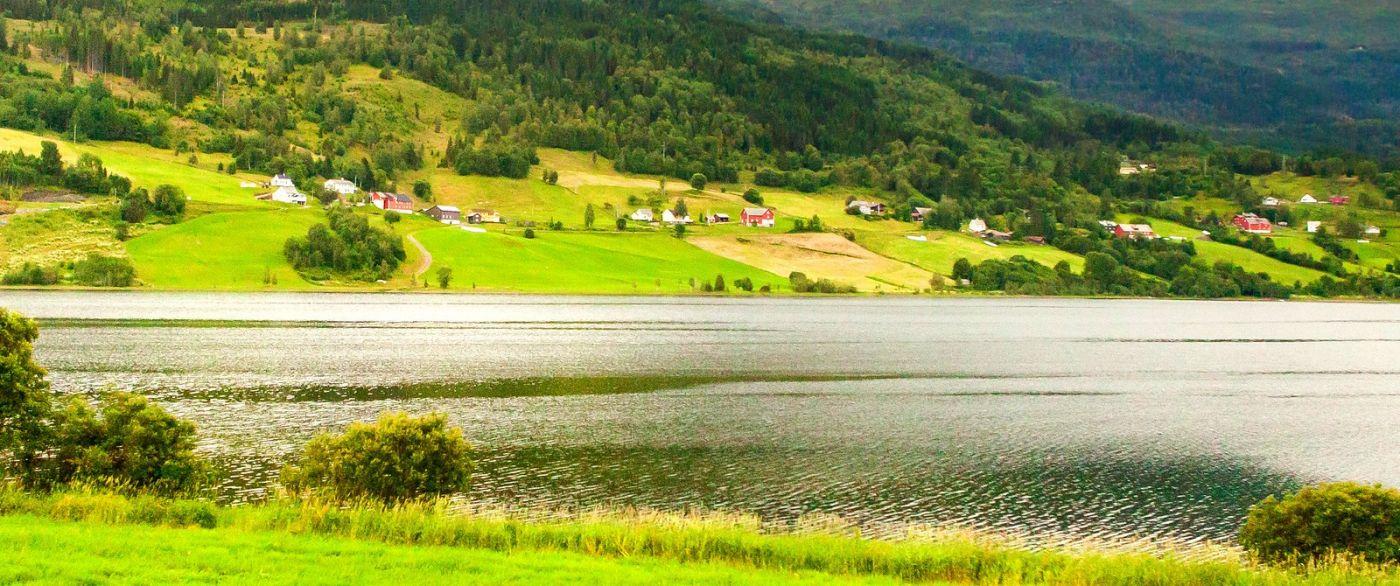 北欧风光,依山傍水美如画_图1-9