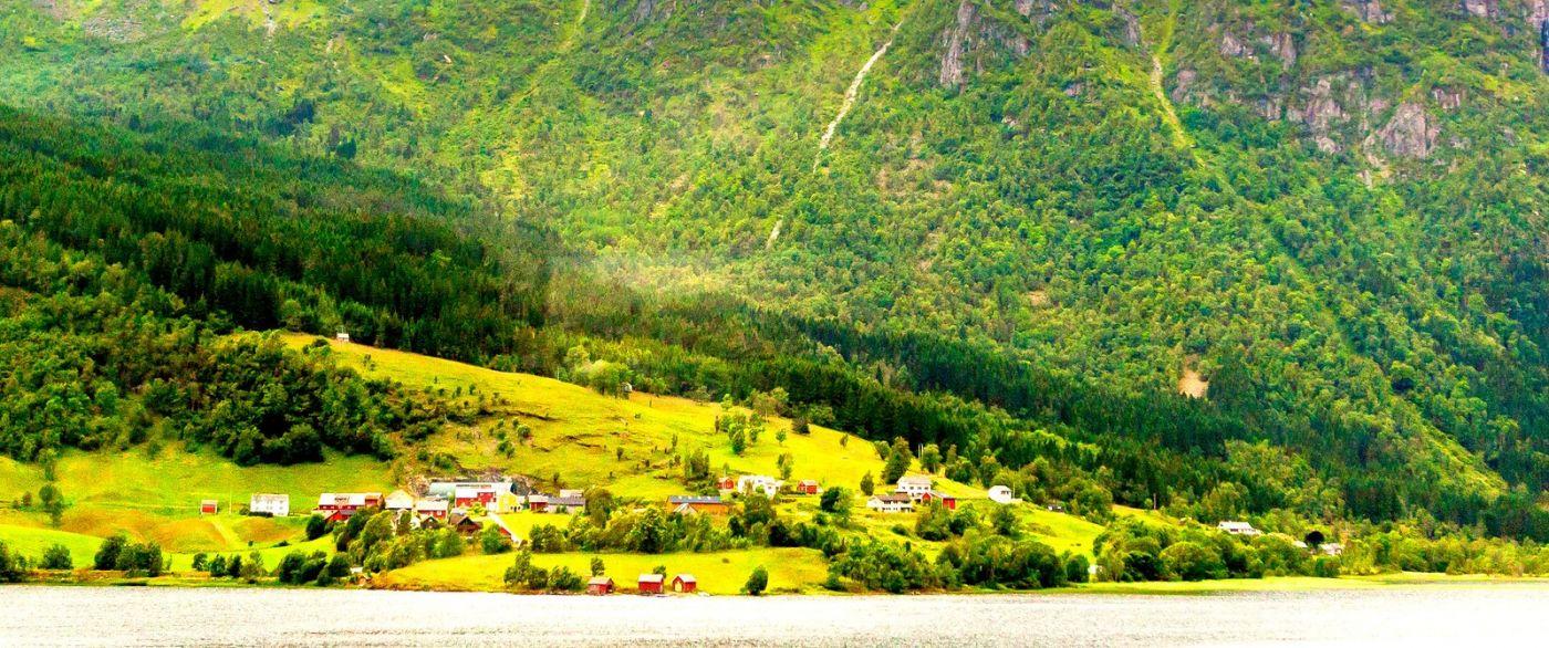北欧风光,依山傍水美如画_图1-17