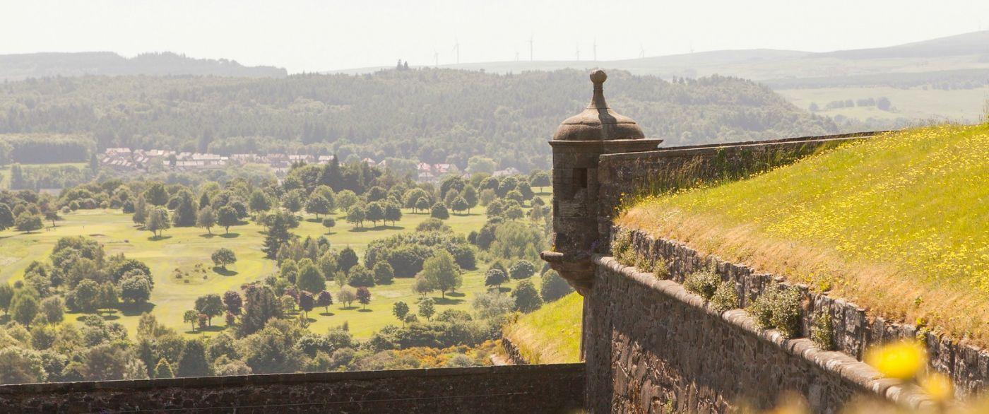 苏格兰斯特灵城堡,城内城外_图1-12