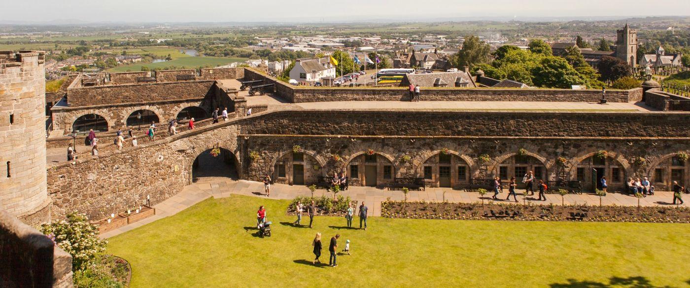 苏格兰斯特灵城堡,城内城外_图1-10
