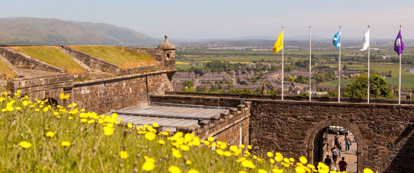 苏格兰斯特灵城堡,城内城外_图1-9