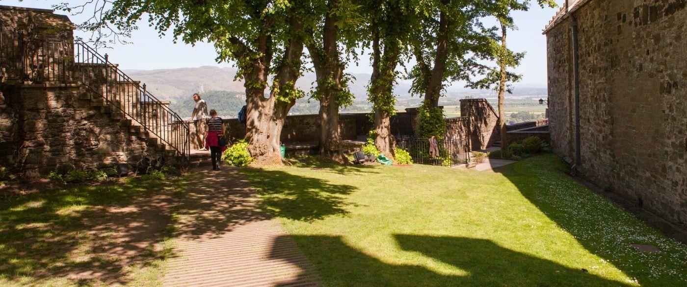 苏格兰斯特灵城堡,城内城外_图1-5
