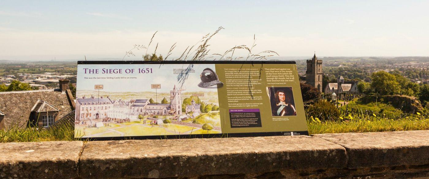 苏格兰斯特灵城堡,城内城外_图1-8