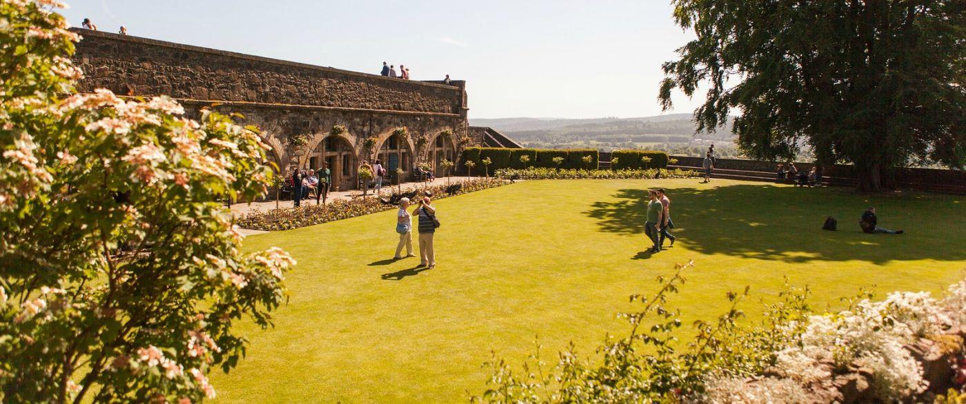苏格兰斯特灵城堡,城内城外_图1-4