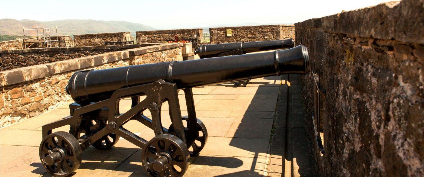 苏格兰斯特灵城堡,城内城外_图1-2