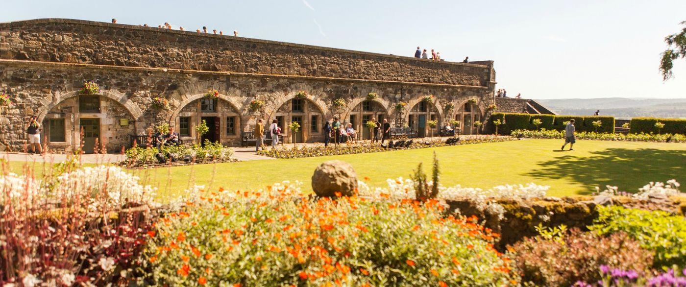 苏格兰斯特灵城堡,城内城外_图1-1