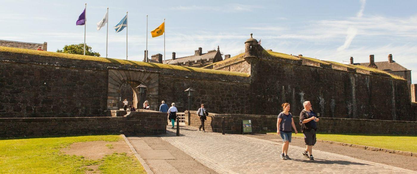 苏格兰斯特灵城堡,城内城外_图1-13
