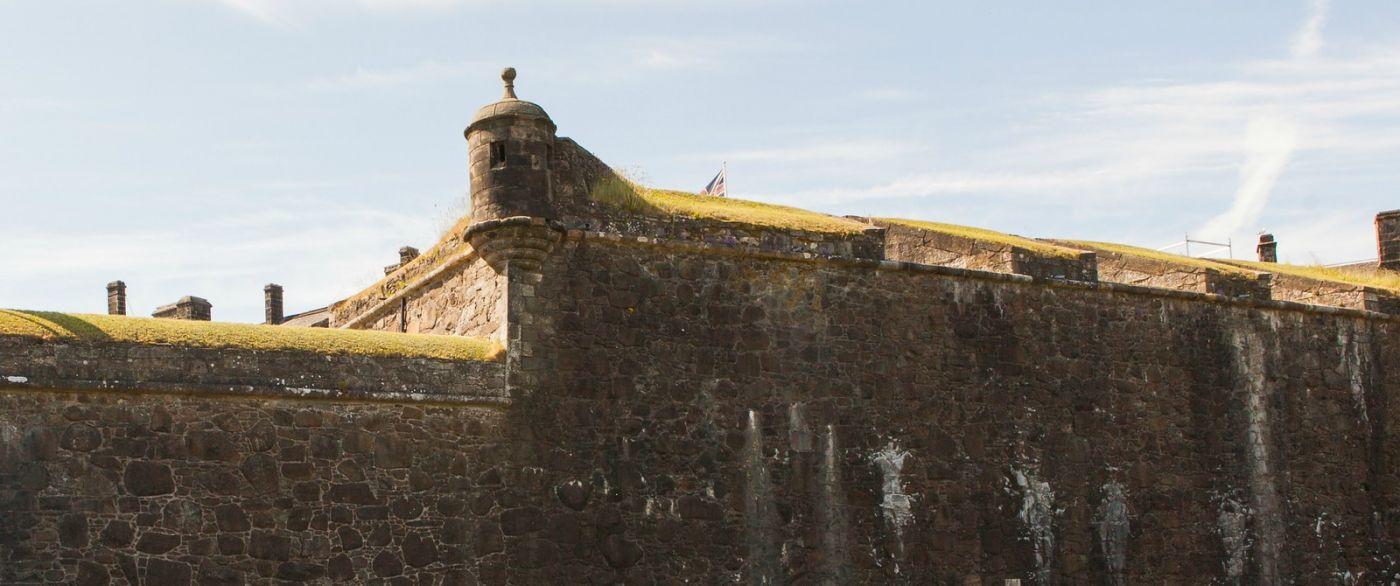 苏格兰斯特灵城堡,城内城外_图1-21