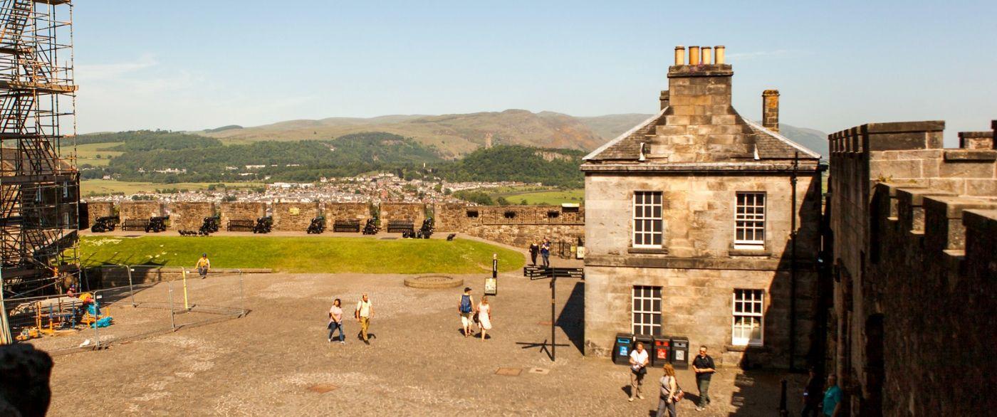 苏格兰斯特灵城堡,城内城外_图1-22