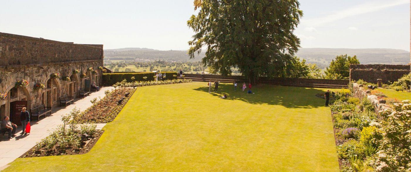 苏格兰斯特灵城堡,城内城外_图1-26