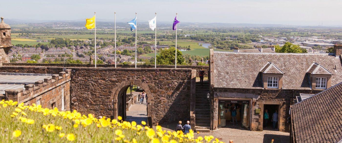 苏格兰斯特灵城堡,城内城外_图1-25