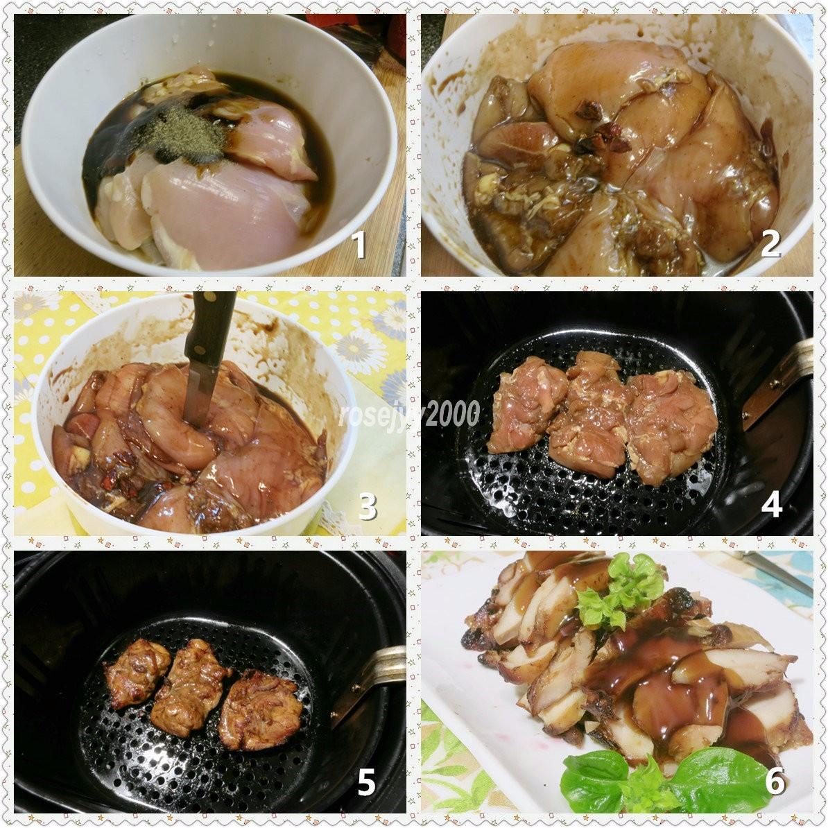 空气锅烤鸡大腿肉_图1-2