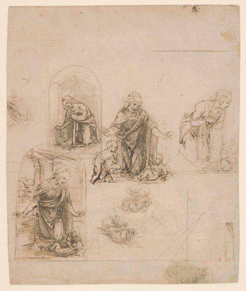 大都会博物馆纪念达芬奇去世500周年_图1-3