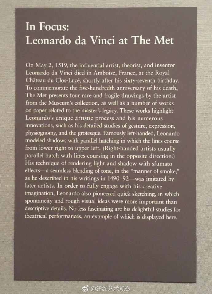 大都会博物馆纪念达芬奇去世500周年_图1-5