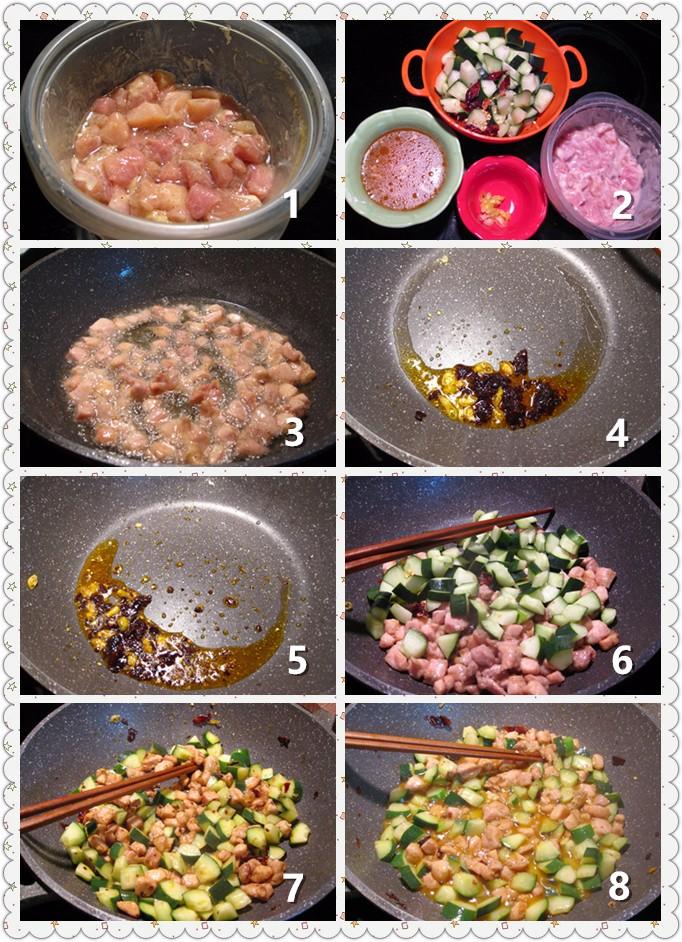 鸡丁炒黄瓜_图1-2