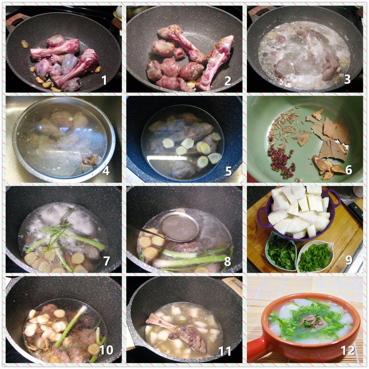 清炖羊肉汤_图1-2