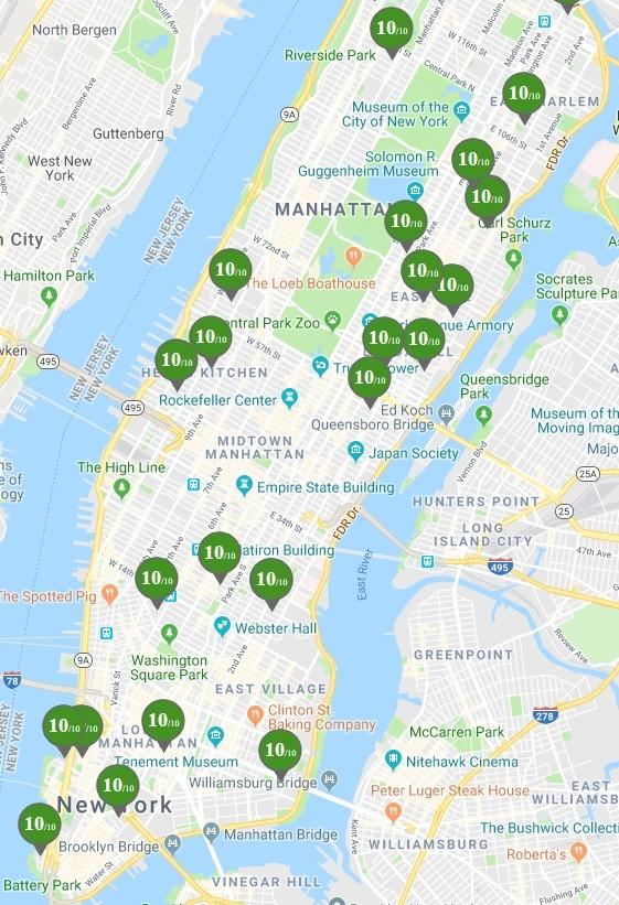 2019年曼哈顿满分公立学校列表_图1-2