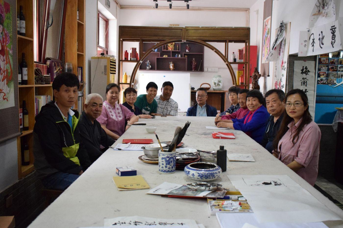北京笔下乾坤志愿团队成立_图1-4