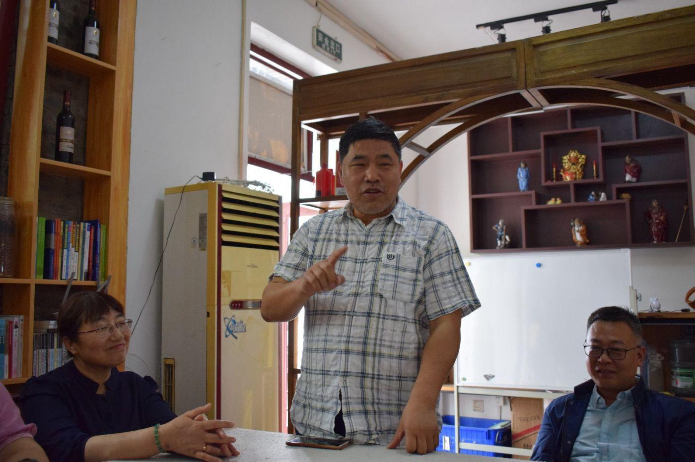 北京笔下乾坤志愿团队成立_图1-5