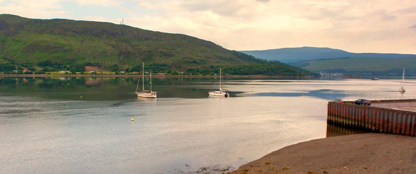 苏格兰美景,一幅幅山水画_图1-31