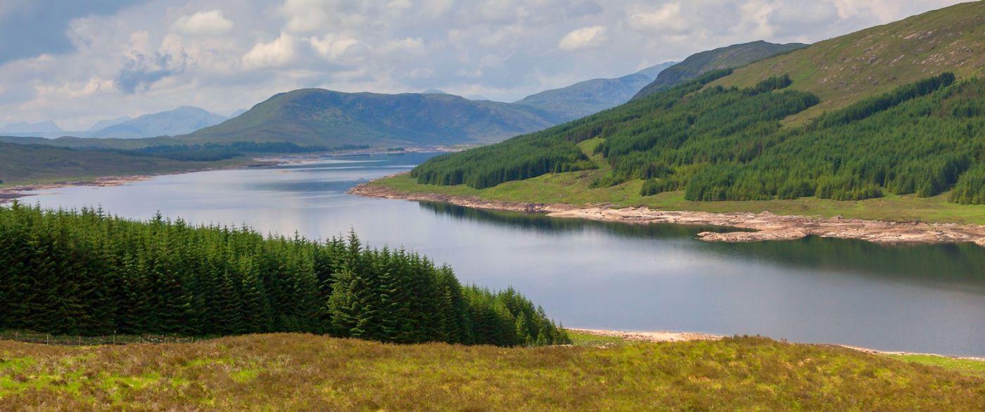 苏格兰美景,一幅幅山水画_图1-1