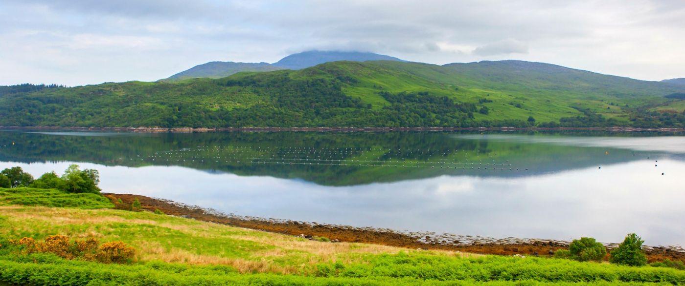 苏格兰美景,一幅幅山水画_图1-26