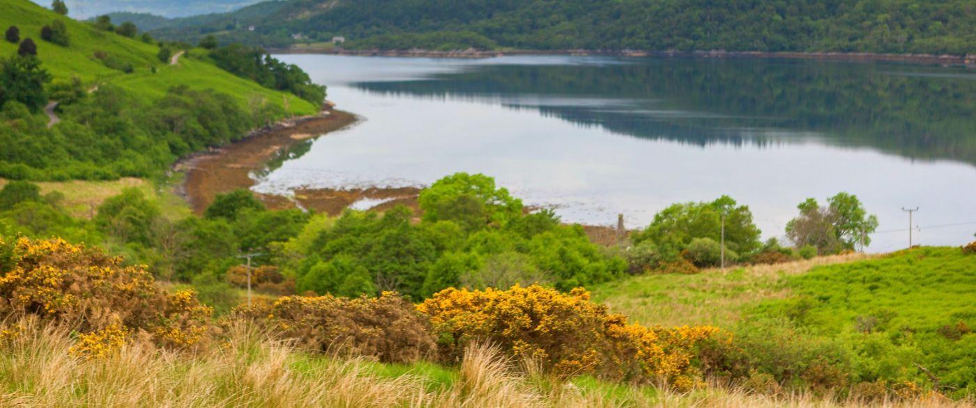 苏格兰美景,一幅幅山水画_图1-12
