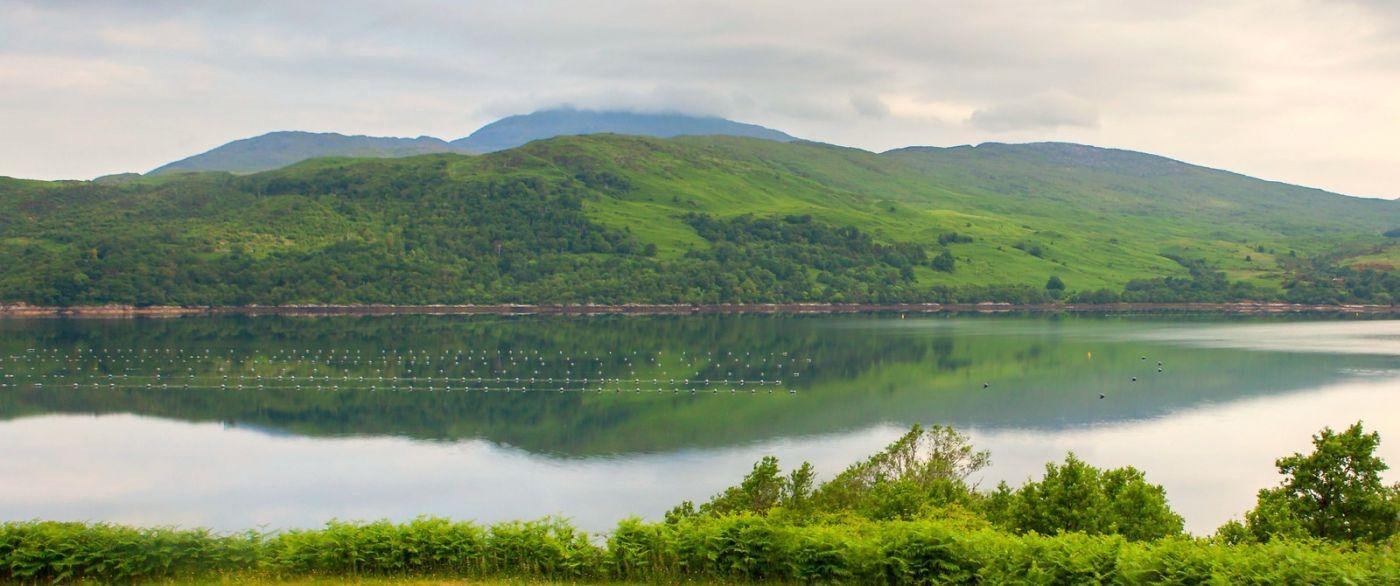 苏格兰美景,一幅幅山水画_图1-5