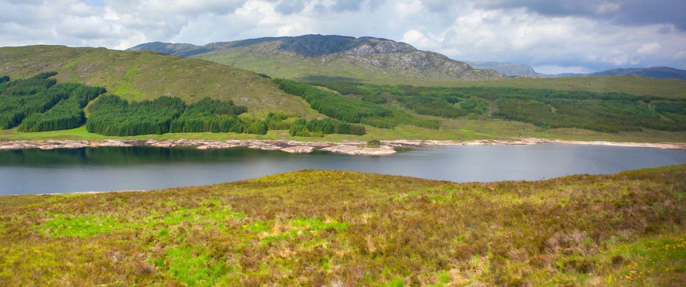 苏格兰美景,一幅幅山水画_图1-35