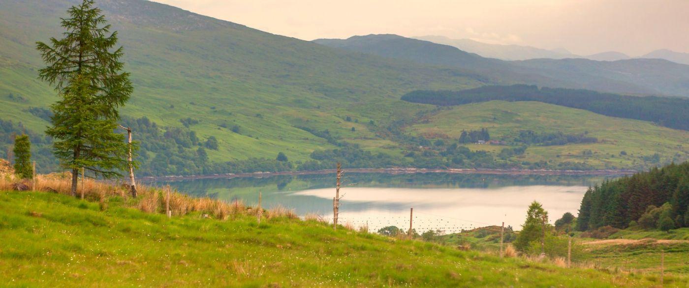 苏格兰美景,一幅幅山水画_图1-34