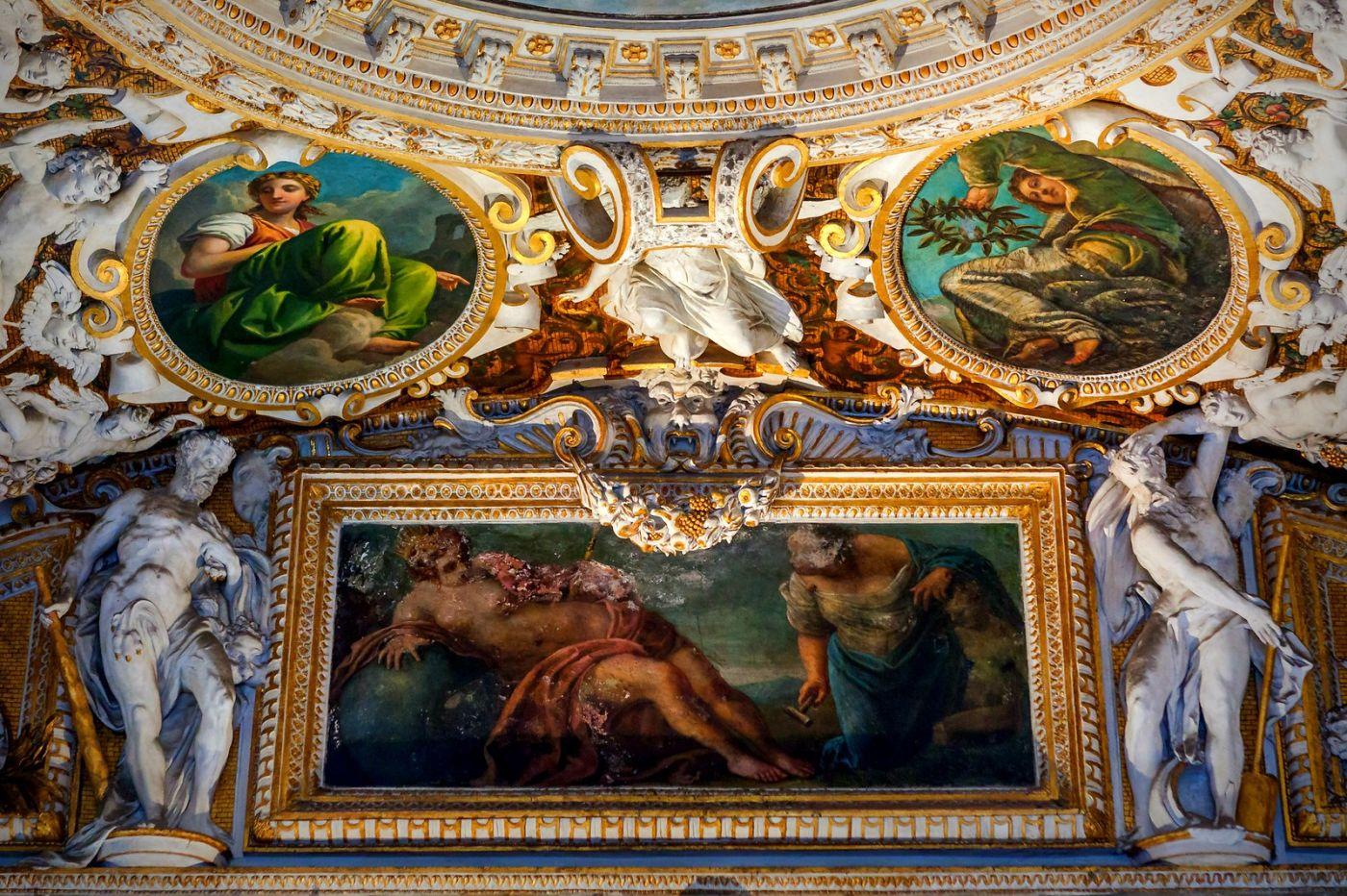 威尼斯圣马可大教堂(St Mark's Basilica), 精雕细琢的顶设_图1-38