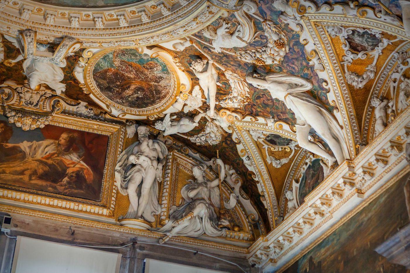 威尼斯圣马可大教堂(St Mark's Basilica), 精雕细琢的顶设_图1-36