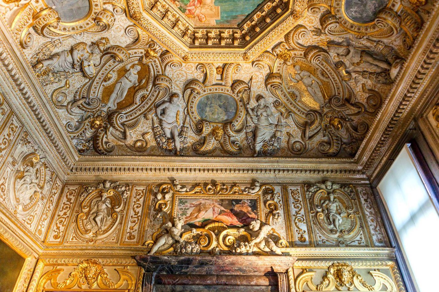 威尼斯圣马可大教堂(St Mark's Basilica), 精雕细琢的顶设_图1-40