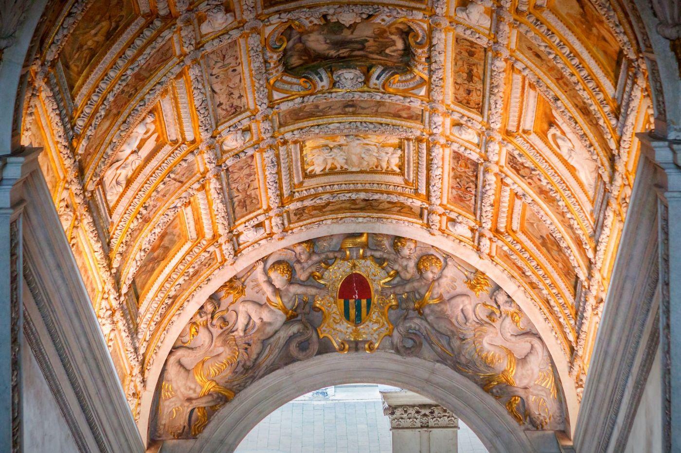 威尼斯圣马可大教堂(St Mark's Basilica), 精雕细琢的顶设_图1-34