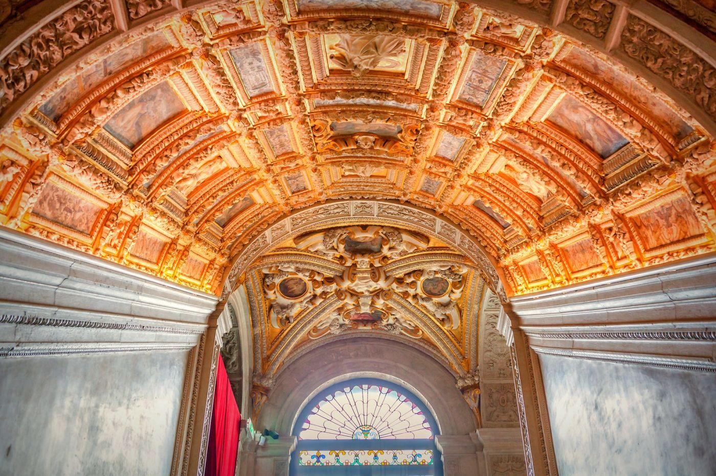 威尼斯圣马可大教堂(St Mark's Basilica), 精雕细琢的顶设_图1-29