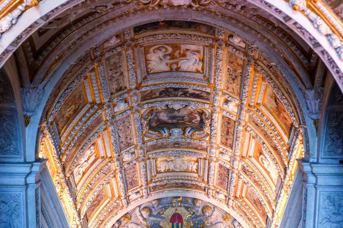 威尼斯圣马可大教堂(St Mark's Basilica), 精雕细琢的顶设_图1-30
