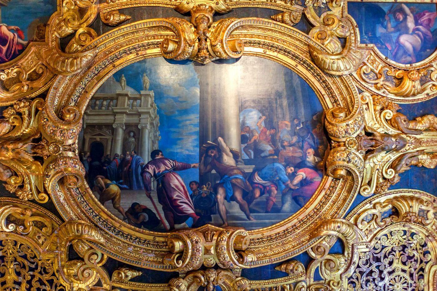 威尼斯圣马可大教堂(St Mark's Basilica), 精雕细琢的顶设_图1-31