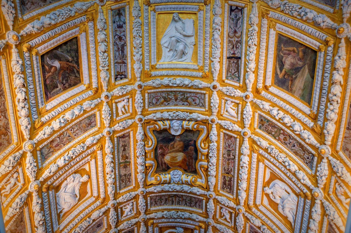 威尼斯圣马可大教堂(St Mark's Basilica), 精雕细琢的顶设_图1-27