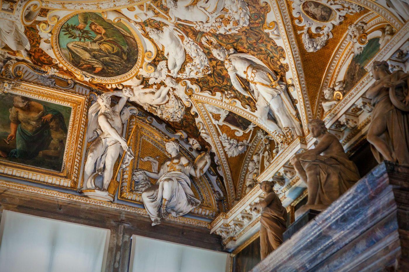 威尼斯圣马可大教堂(St Mark's Basilica), 精雕细琢的顶设_图1-21