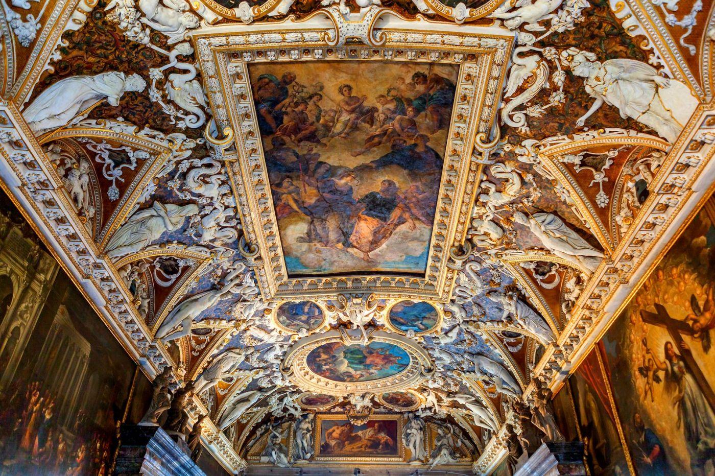 威尼斯圣马可大教堂(St Mark's Basilica), 精雕细琢的顶设_图1-22