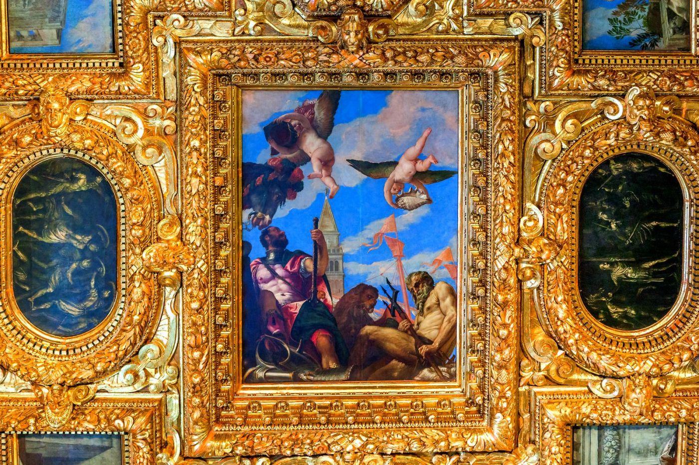 威尼斯圣马可大教堂(St Mark's Basilica), 精雕细琢的顶设_图1-24
