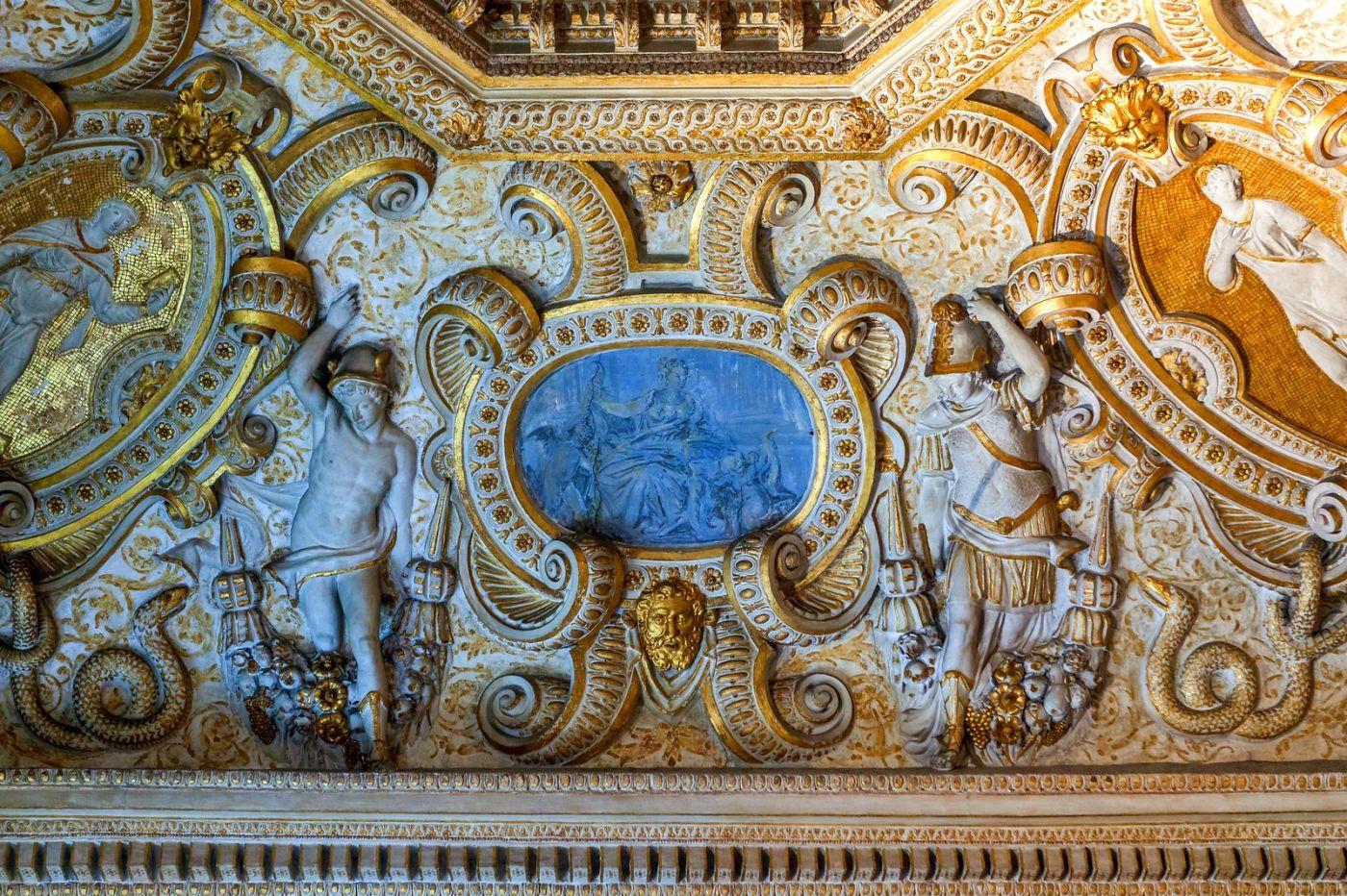 威尼斯圣马可大教堂(St Mark's Basilica), 精雕细琢的顶设_图1-20