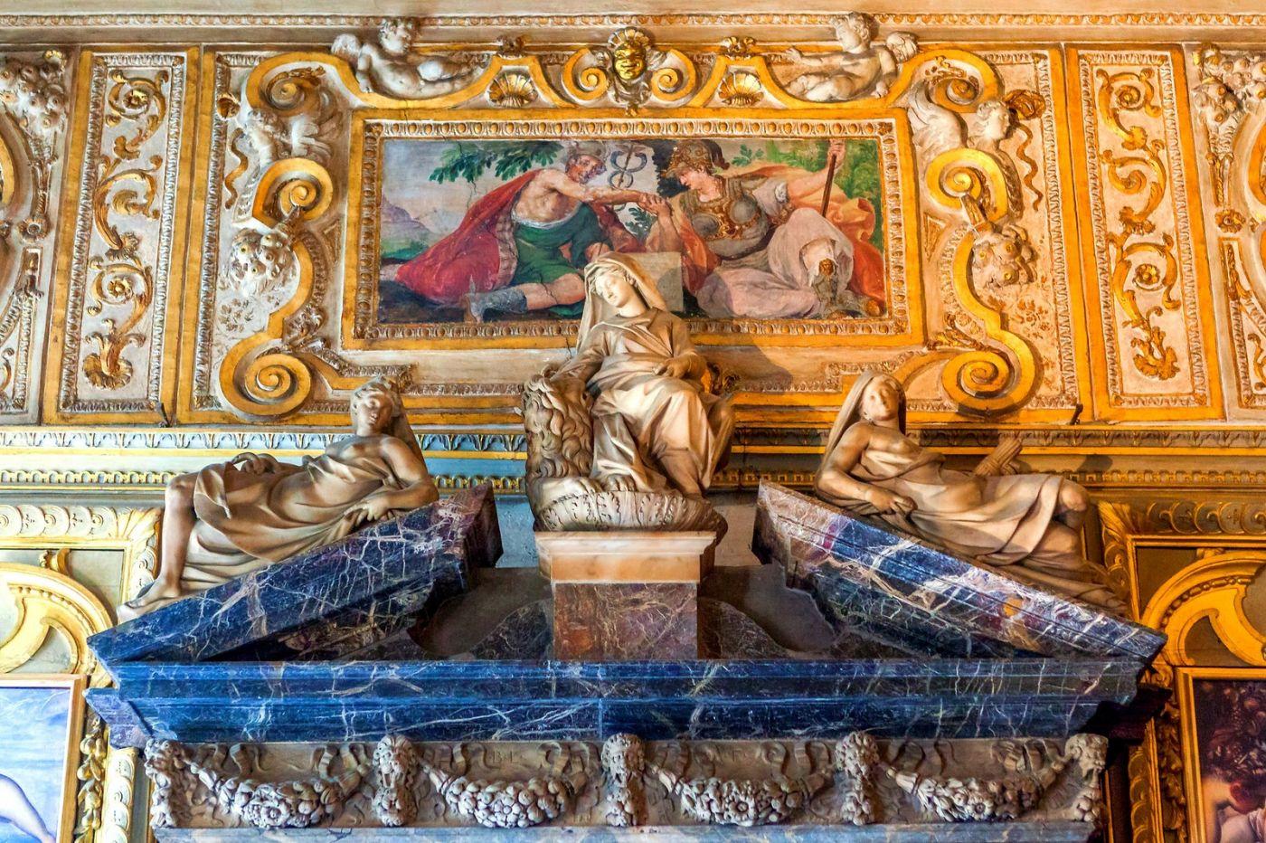 威尼斯圣马可大教堂(St Mark's Basilica), 精雕细琢的顶设_图1-19