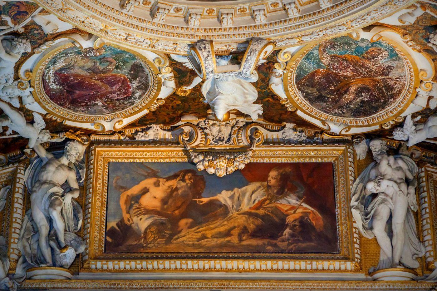 威尼斯圣马可大教堂(St Mark's Basilica), 精雕细琢的顶设_图1-18