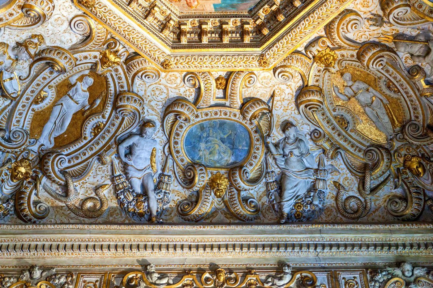 威尼斯圣马可大教堂(St Mark's Basilica), 精雕细琢的顶设_图1-17