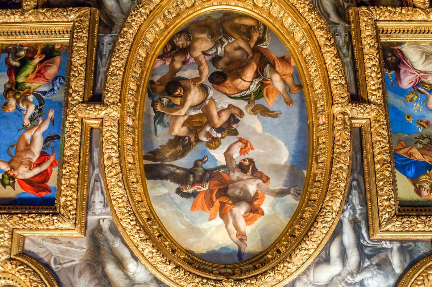 威尼斯圣马可大教堂(St Mark's Basilica), 精雕细琢的顶设_图1-14