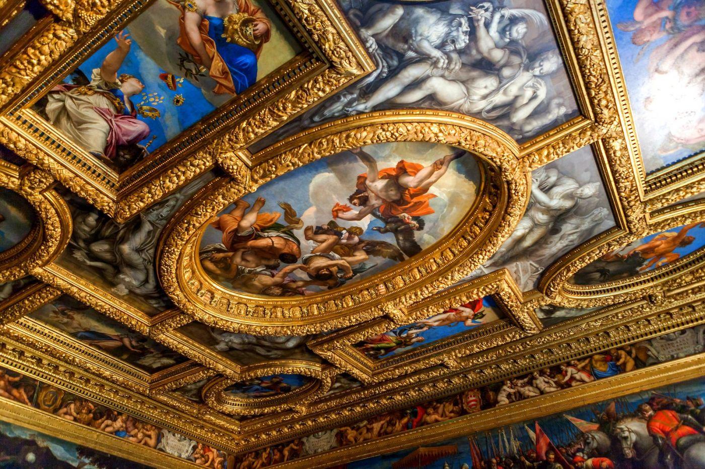 威尼斯圣马可大教堂(St Mark's Basilica), 精雕细琢的顶设_图1-4